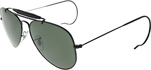 Aviator Ears With Sunglasses ban Black Ray Wire 3030 Outdoorsman Wrap qtnSB