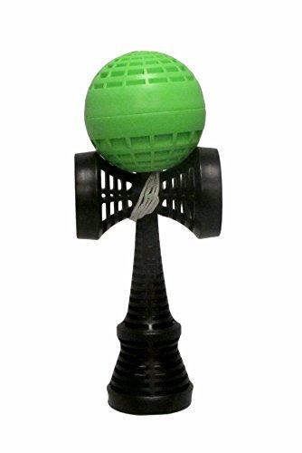 YoYoFactory Catchy Air Kendama- Green and Black (Best Kendama Tricks Ever)