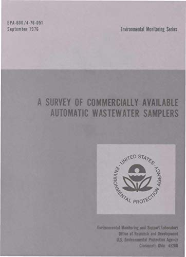 Survey of Commercially Available Automatic Wastewater Samplers ()