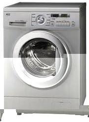 LG WD-14337RD Independiente Carga frontal C Plata lavadora ...