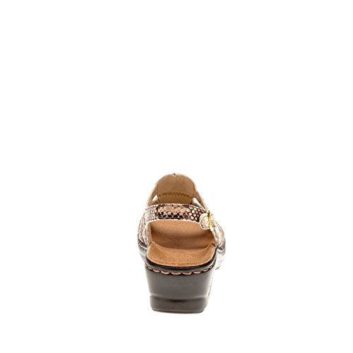 Clarks Narrative Lexi Marigold Q Mujer US 10 Beis Sandalia
