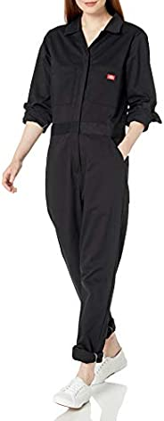 Dickies Womens Long Sleeve Cotton Twill Coverall Work Utility Coveralls