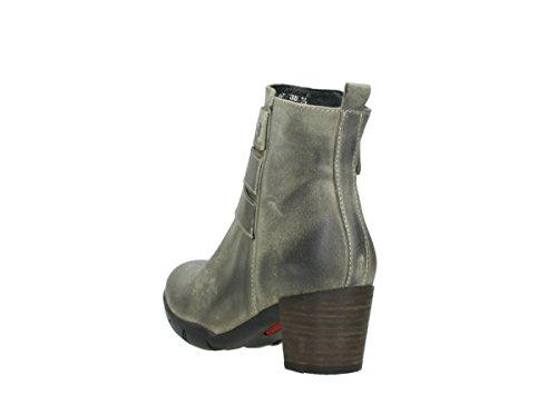 Wolky Stivali Taupe 40151 Di Willmore Camoscio Comfort ppxErf