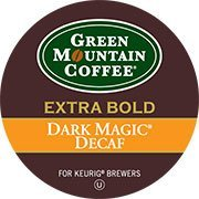 GREEN MOUNTAIN DARK MAGIC DECAF EXTRA BOLD COFFEE K CUP 24 COUNT by Mountain Green