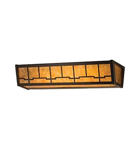 - Meyda Tiffany 14327 Bungalow Vanity Light Fixture, 24