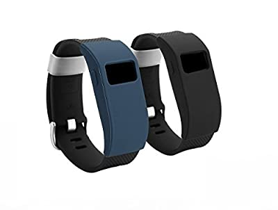 BeneStellar Fitbit Charge HR 2-Pack Band Cover Cases, Slim Designer Sleeve Protector accessories