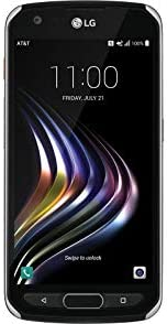 """LG X Venture H700 4G LTE 32GB AT&T 5.2"""" 16 MP Smooth Black WeeklyReviewer"""