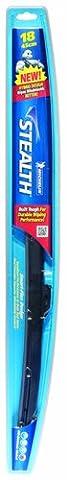 Michelin 8018 Stealth Hybrid Windshield Wiper Blade with Smart Flex Design, 18