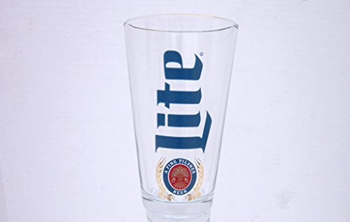 Miller Lite Pint Glass Retro (Lite Miller Merchandise)