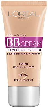 BB Cream Dermo Expertise Base Média 30ml, L'Oréal Paris, Médio,