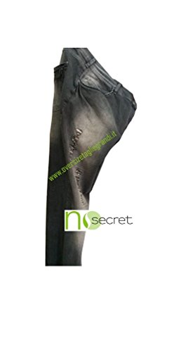 Taglie No Con Donna Strappi Jeans Comode Stretch Secret gqpBZga