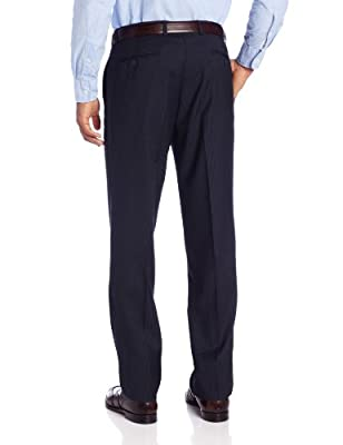 Calvin Klein Men's Navy-Stripe Slim-Fit Suit