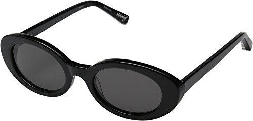 Elizabeth and James Women's McKinley Sunglasses, Black/Smoke Mono, One - Elizabeth Sunglasses James