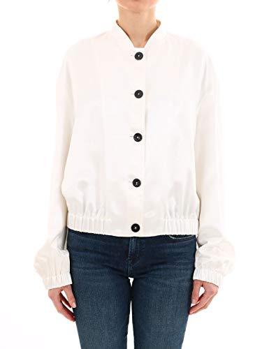 Femme Blanc Jsco401210wo391300105 Veste Viscose Sander Jil 0qUxwzT