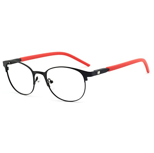 OCCI CHIARI Men Computer Glasses Blue Light Blocking Eyewear Fashion Optical Eyeglasses with Clear Lens