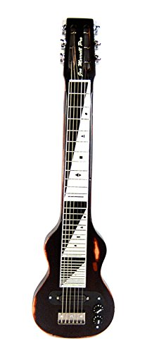 Joe Morrell Pro Relic Series Maple 6-String Lap Steel Guitar Vintage Black USA by Morrell