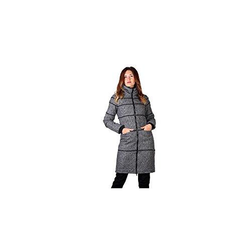 ZERGATIK Abrigo Mujer GOMEN Grey