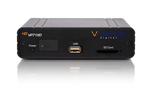 Viewsonic Digital Signage - VP71XD Premium Industrial Grade Looping & Interactive Digital Signage Media Player with Built in Weekly Scheduler. Auto Powers On, Auto Plays, Auto Seamless Loops 24/7 Reliable and Seamless Playback
