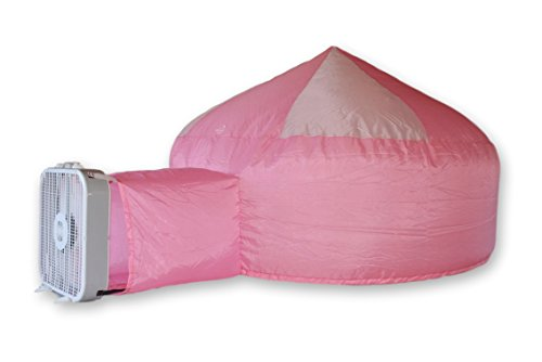 Air Fort  The Original Build A Fort in 30 Seconds, Inflatable for Kids, Pink/White by Air Fort