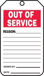 out of service tags - 3