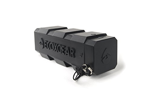 ECOXGEAR Powerbank External Battery Pack for Universal/Smartphones - Retail Packaging - Black