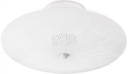 Nuvo Lighting SF76/269 Two Light Ceiling Fixture Flush Mount, White