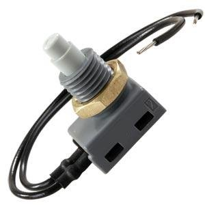 JR Products 13985 12V Push Button On/Off Switch (Quantity 10)