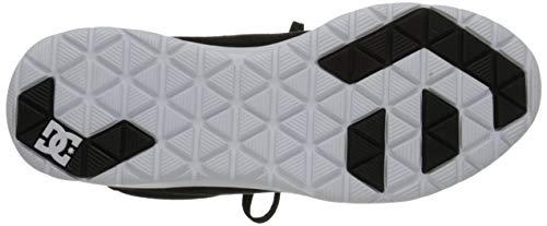 M Skate Black white Us 5 5 Dc Heathrow Shoe fZq6T6