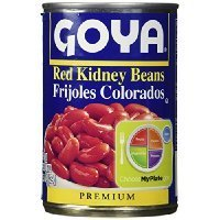Goya Red Kidney Beans Habichuelas Coloradas Premium- 15.5 Oz Cans (6 Pack) Thank you for using our service