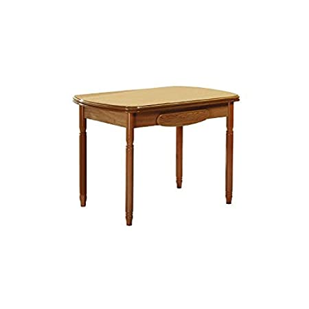 Ventamueblesonline Mdf Economic Kitchen Table 90 X 40 Cm Walnut