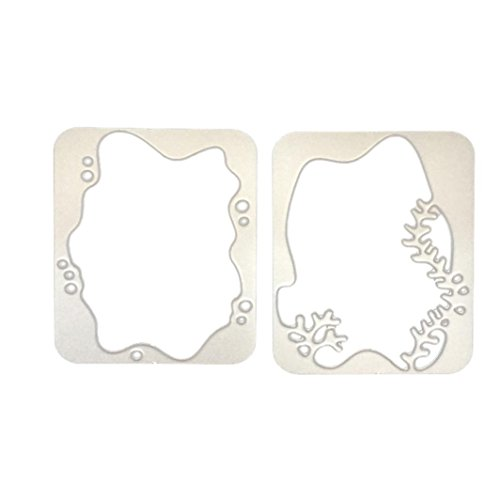 Newest Arrivals! Metal Cutting Dies Forrest Embossing Stencil Template for DIY Scrapbooking Album Paper Card Craft Decoration by E-Scenery (E) -