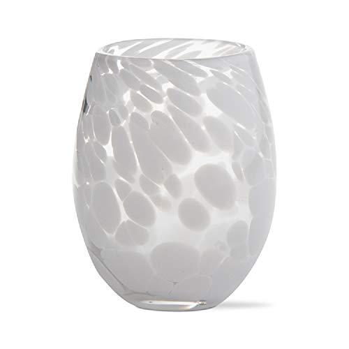 (TAG White Confetti Stemless Wine Glass, Set of 6)