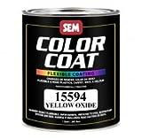 yellow aerosol paint for glass - Haz Yellow Oxide Color Coat Qt-2pack