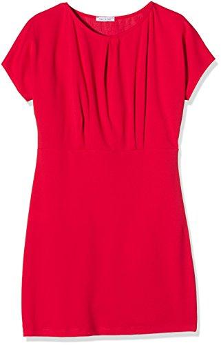 Capri Solo donna da Vestito corto Abito Rosso400 drappeggiato A4rqPv4w