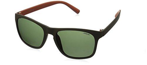 Green 3009 Orange Dark Naranja Polaroid Khaki PLD S Pz Sonnenbrille qwPxqF84