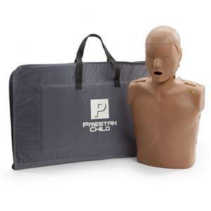 Prestan Child CPR Manikin, Dark Skin Tone (with Rate Monitor)