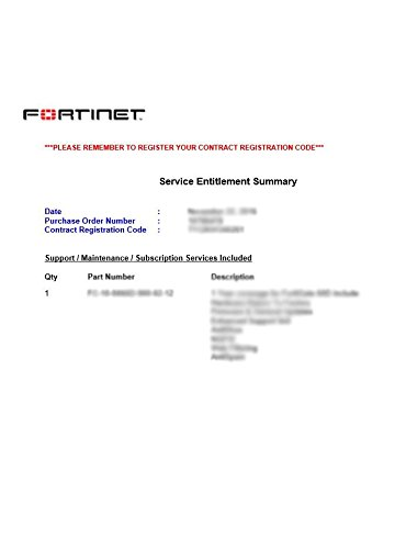 FORTINET | FC-10-00143-247-02-60 | FortiGate-140E-POE 24x7 FortiCare Contract, 5 Year License by Fortinet (Image #2)