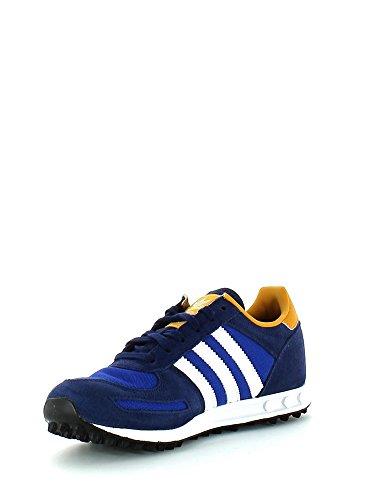 adidas Originals LA Trainer Unisex-Kinder Sneakers Dark Blue/Ftw White/Collegiate Royal