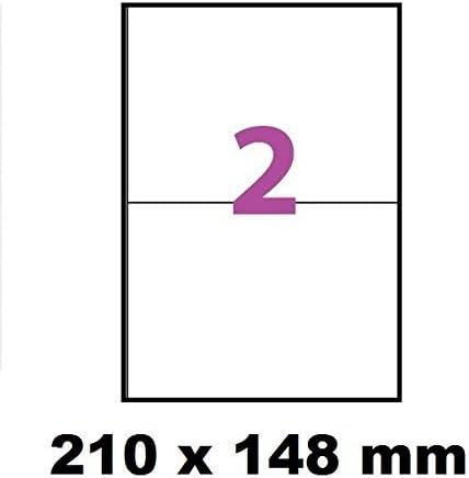 20 A4 foglio di etichette 14 autocollantee 105 x 42 mm Carta etichetta adesiva per stampanti a getto dinchiostro e laser