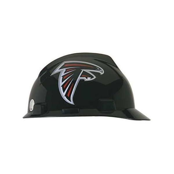NFL Hard Hat, Atlanta Falcons, Black/White 1