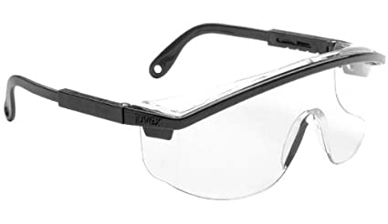265aacb64344 Image Unavailable. Image not available for. Color  10 Pack UVEX S135C Astrospec  3000 Safety Glasses with Black ...