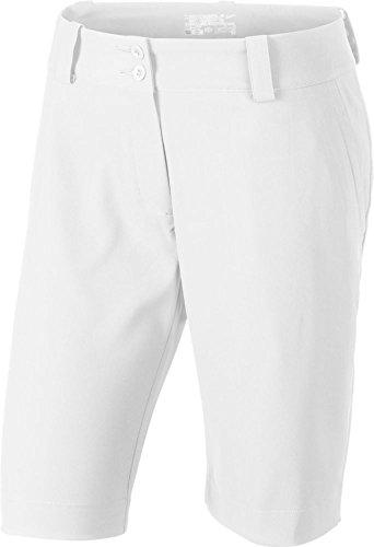 Nike Women's Modern Rise Tech Skort White / White 618148 100 (Modern Rise Tech Skort)