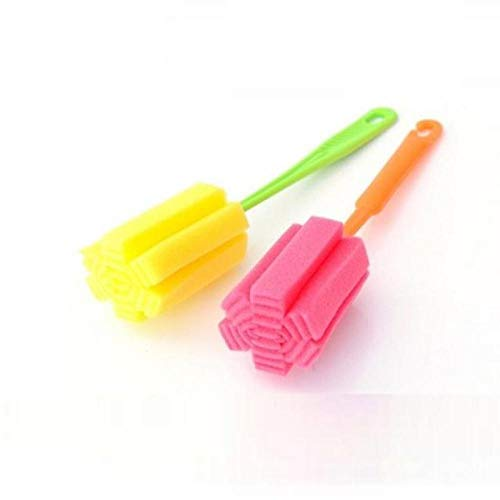1 PC Kitchen Cleaning Tool Sponge Brush For Wineglass Bottle