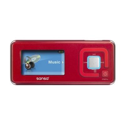 MP3 Player, 2GB Sansa C250, Red, (Player Sansa Mp3 Sandisk Gb 2)