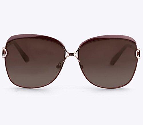 Del Color Fundamentos UV Sombra Polarizadas sol Ocular Protección Femeninas de Libre Champán Gafas Al Deportes BSNOWF Gafas Anti Aire Viaje Aw7PfxUP