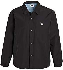 Obey Men's Icon Mesh Jacket, Black