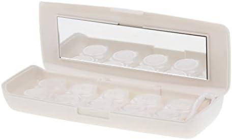 Sharplace 5 Piezas Caja para Guardar Lentillas de Viaje ...
