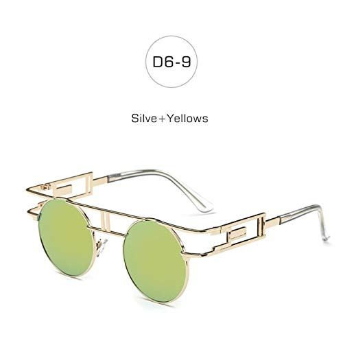 Women Bharat Round 9 Ventures YellowsRoupai Glasses D6 Silve Sun qjGzMVpLSU