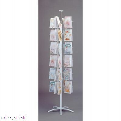 Amazon 48 pocket spinning greeting card floor rack spinner 48 pocket spinning greeting card floor rack spinner white 5 38 quotw m4hsunfo