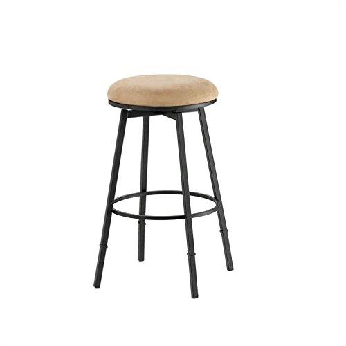 Hillsdale Sanders Swivel Adjustable Height Bar Stool - Matte